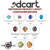 3dcart Responsive Product Countdown