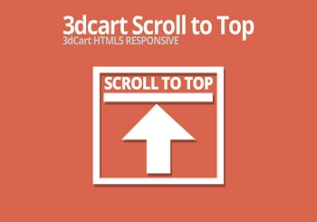 3dcart Scroll to Top Button