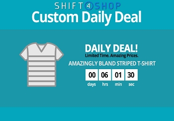 Shift4Shop Custom Daily Deal