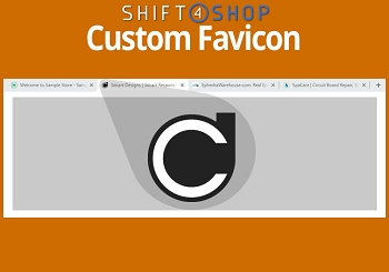 Shift4Shop Custom Favicon