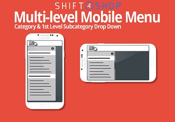 Shift4Shop Responsive Mobile Menu
