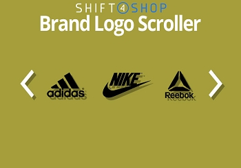 Shift4Shop Responsive Logo Scroller