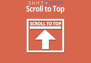 Shift4Shop Scroll to Top Button