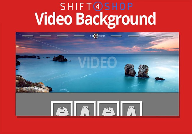 Shift4Shop MP4 Video Hero